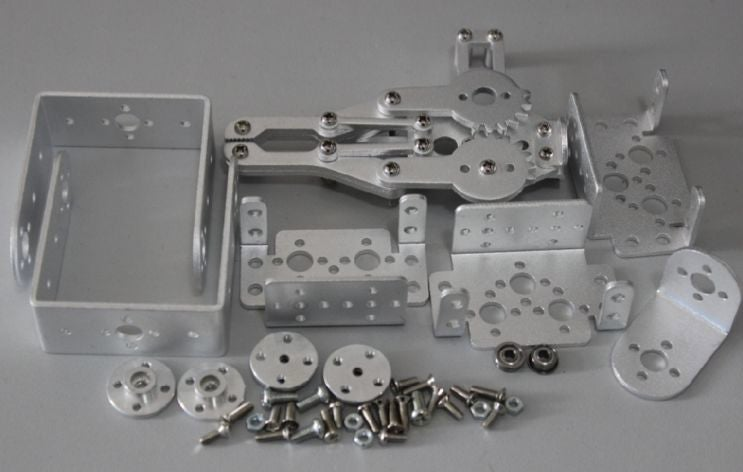 4自由度机械臂的制作图解