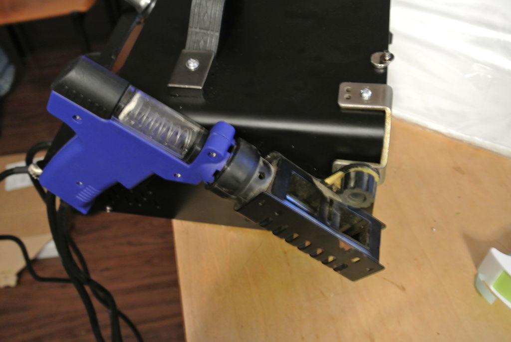 怎样将烙铁换成拆焊枪