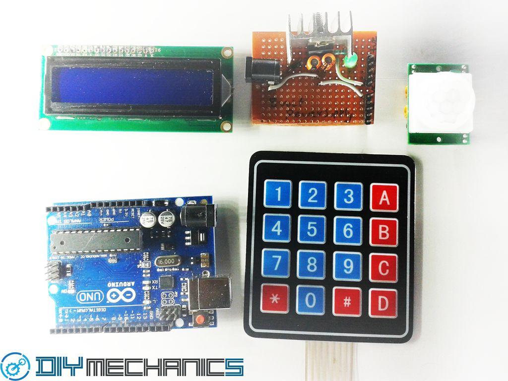 使用Arduino的Diy密码锁系统