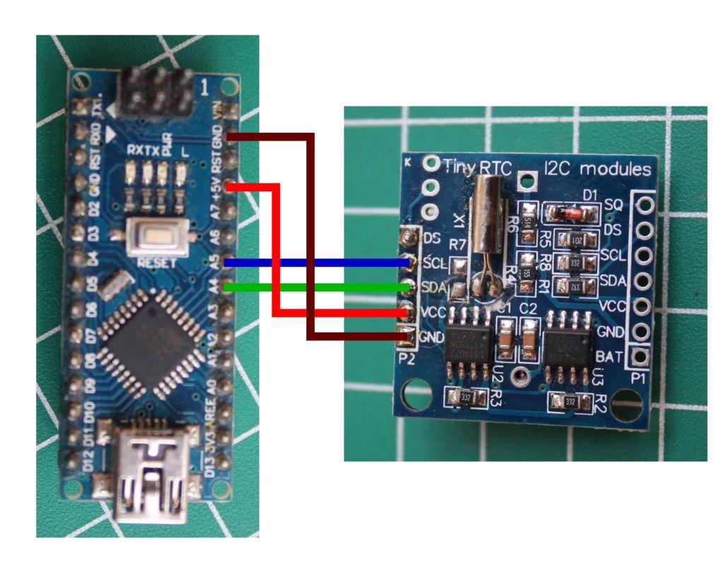 如何使用Arduino使用DS1307
