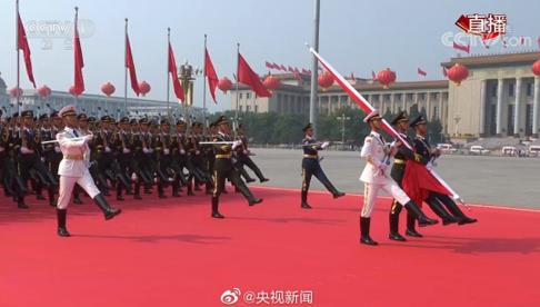北京电信携手华为完成了国庆庆典阅兵5G+4K超高...