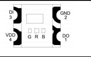 WS2812C-2020智能外控集成LED光源的數據手冊免費下載