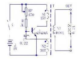 一文解析220V逆變電源電路圖