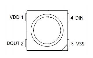 WS2812B智能外控集成LED光源的數據手冊免費下載