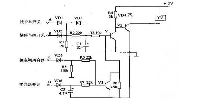 汽车电子节油器电路工作原理