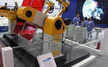 我国的工业机器人产业处于高速发展期