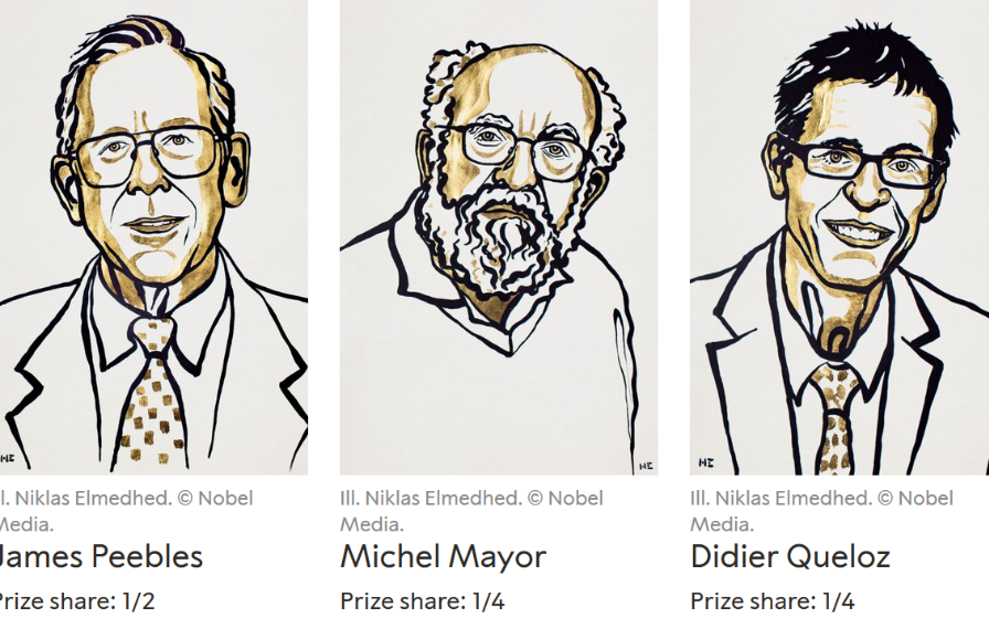 2019年諾貝爾物理學獎花落天體物理,還有哪些與之比肩的物理成就?