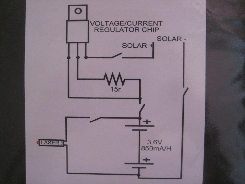 激光可充电电池激光束报警系统