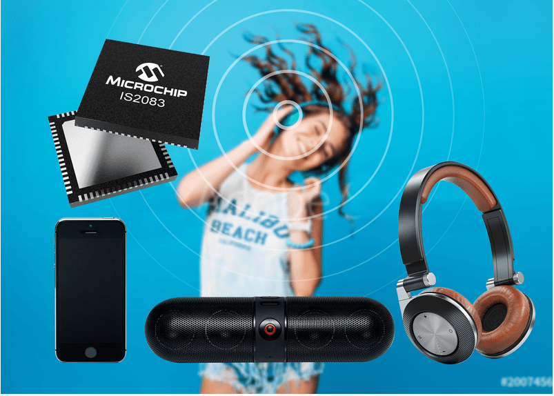 Microchip发布下一代蓝牙5.0双模式音频IC认证双模解决方案