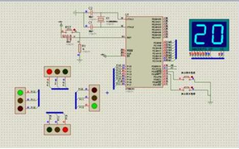 簡易交通燈控制電路的設計工程文件免費下載