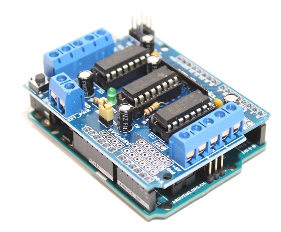 Arduino L293D电机驱动器屏蔽教程