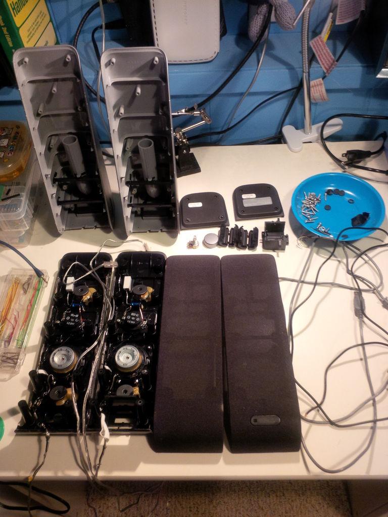 如何修改Sony VGP-SP2扬声器