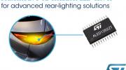 意法半導體推出靈活的車規級12通道LED驅動芯片,簡化當下最先進的車燈設計