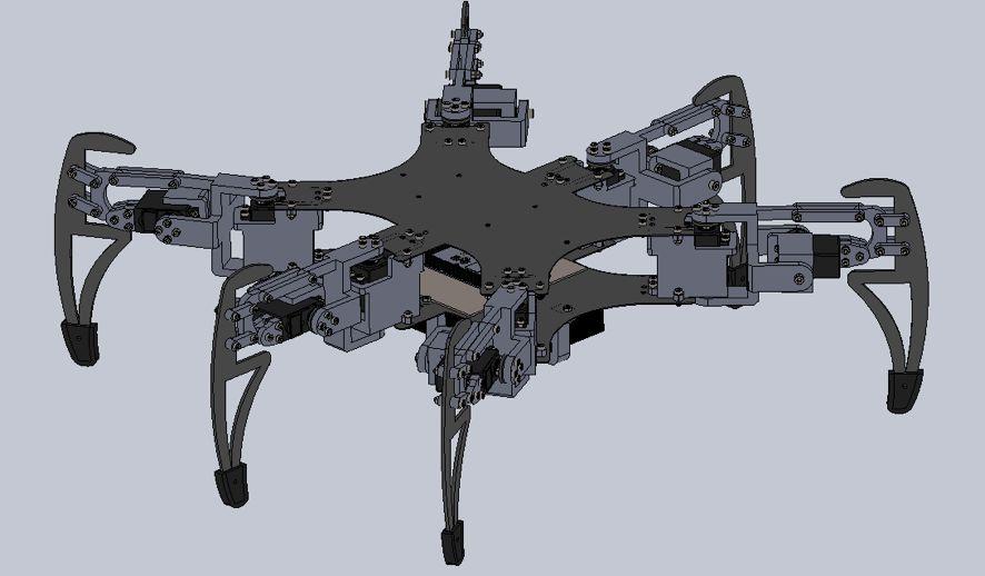 如何制作一个蓝牙远程控制的六足机器人