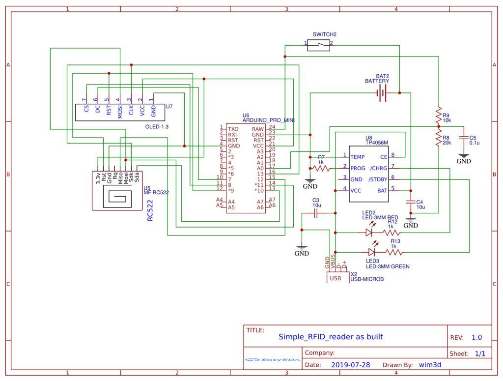 如何制作一个简单的RFID UID读取器