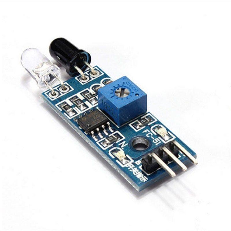 如何制造仅使用一个LM358运算放大器ic的IR和LDR传感器