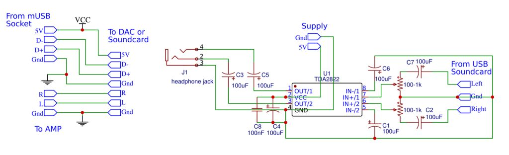 如何制作带放大器的DAC
