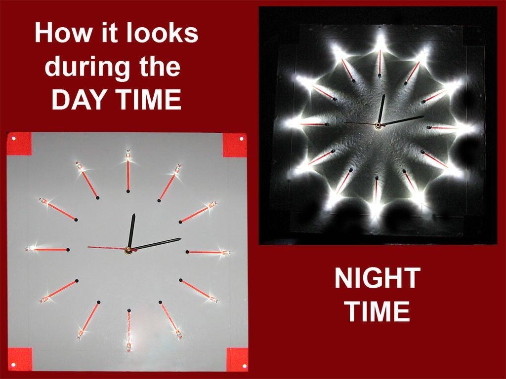LED夜灯时钟的制作