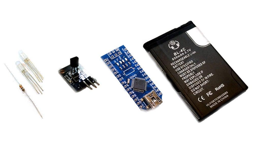 如何用LED和Arduino制作智能杯子