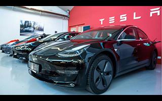 特斯拉第三季度新車交付創紀綠達97000輛