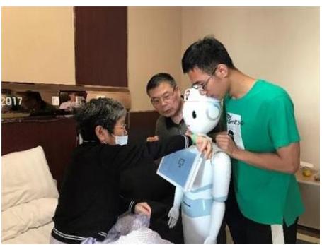 智慧机器人开始在医院上班了吗