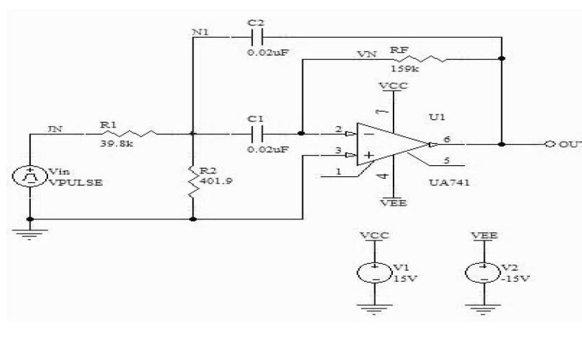 如何才能使用PROTEL进行带通滤波器电路的仿真