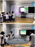 影创科技为教育领域打造了创新性的5G+MR全息教室