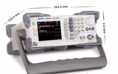 普源精電推業界體積最小、功能更全的DSG800A系列矢量射頻信號源