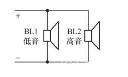解析5种二分频扬声器电路