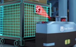 仙知機器人助力汽車零部件加工車間實現智能物流