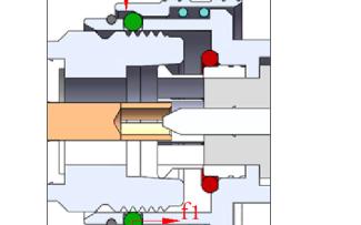 新型移动通信射频连接器 QC4.1-9.5型的研究与分析
