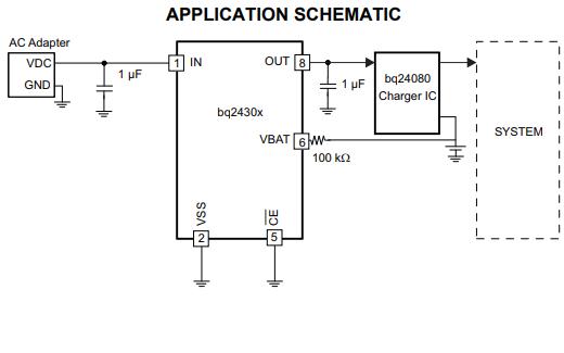 BQ24300和BQ24304过电压过电流保护芯片的数据手册免费下载
