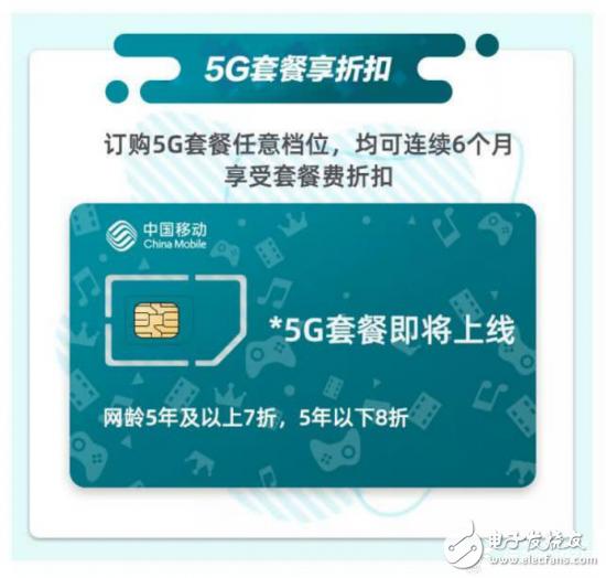 三大运营商的5G套餐商用时间仍未确定,中国移动预...