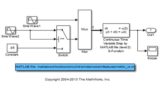 使用Simulink进行S-Function建模的教程PPT课件免费下载
