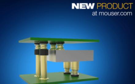 贸泽正式推出TE的ERFV同轴连接器 支持板对板和板对滤波器应用