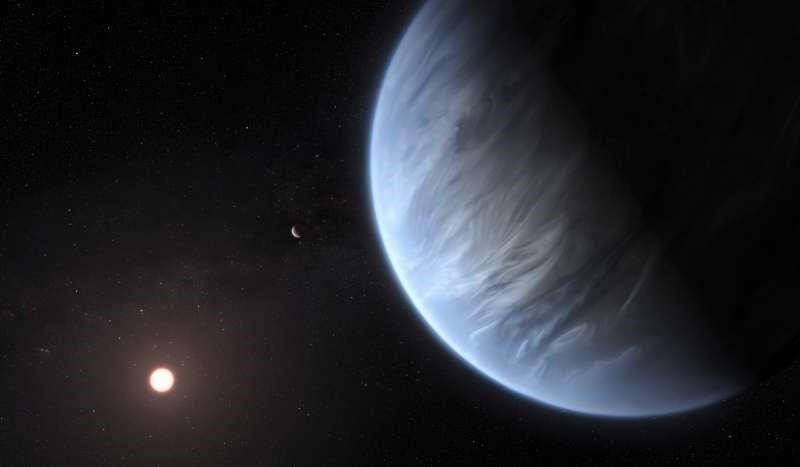 伦敦大学学院发现,系外行星K2-18b大气层含有水分,也是史上首次发现含水的宜居星球