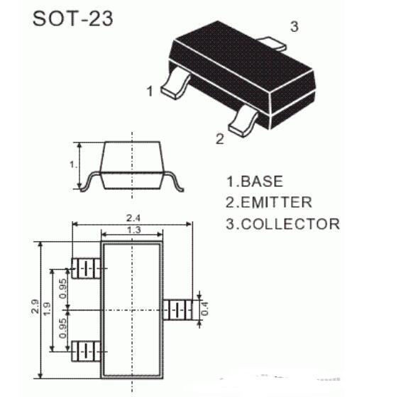 9013三極管放大倍數及封裝