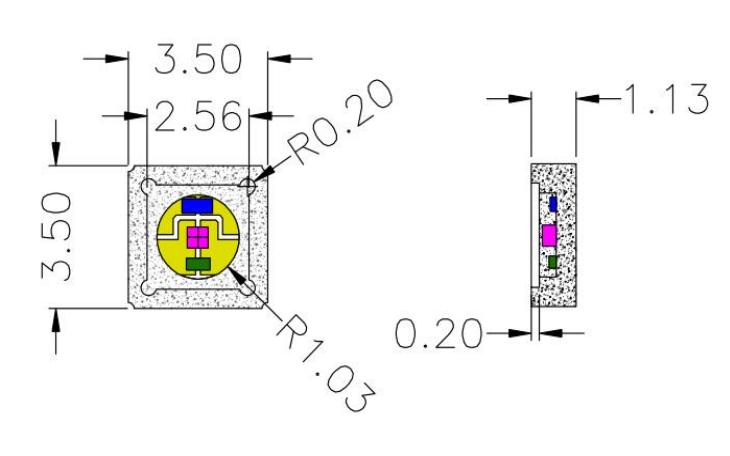 HK275S35CCC-60深紫外LED的数据手册免费下载