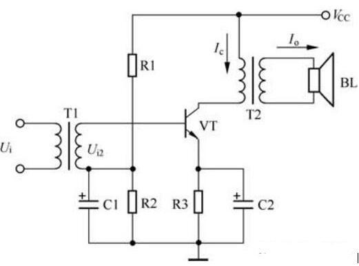 甲、乙类功率放大器电路图