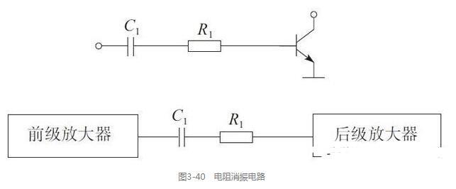 电阻消振和负反馈电阻电路图