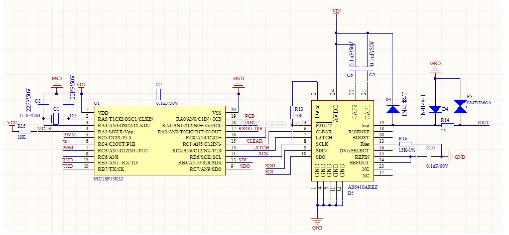 PIC单片机与AD5410芯片控制系统输出4-20mA电流信号的设计