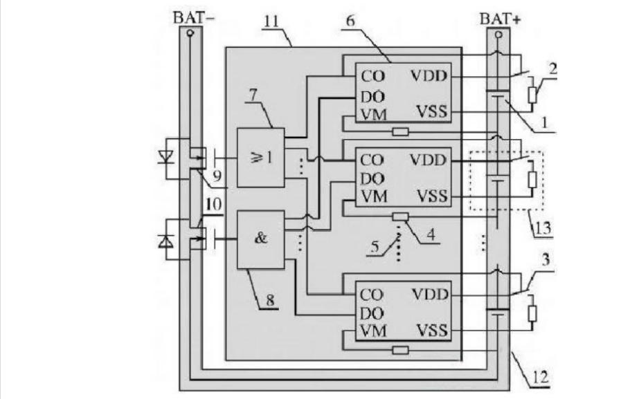 锂电池充放电保护板及保护板原理的详细资料讲解