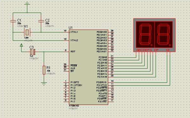 使用51單片機實現時鐘計時顯示的基本方法詳細說明