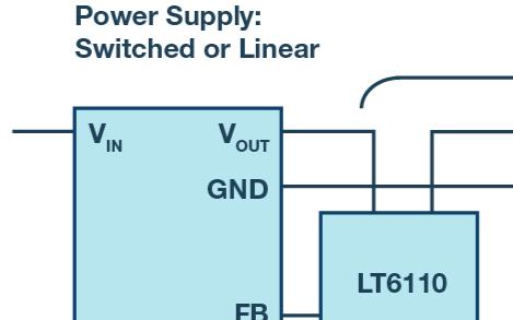 稳压器与相关负载之间的物理距离怎么确定?