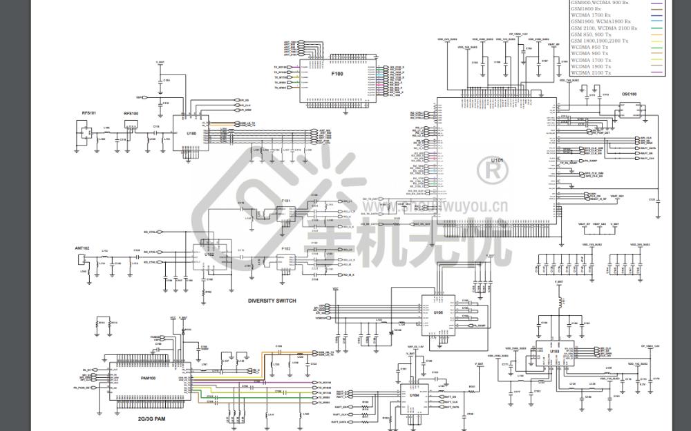 三星I9250智能手机的电路原理图免费下载