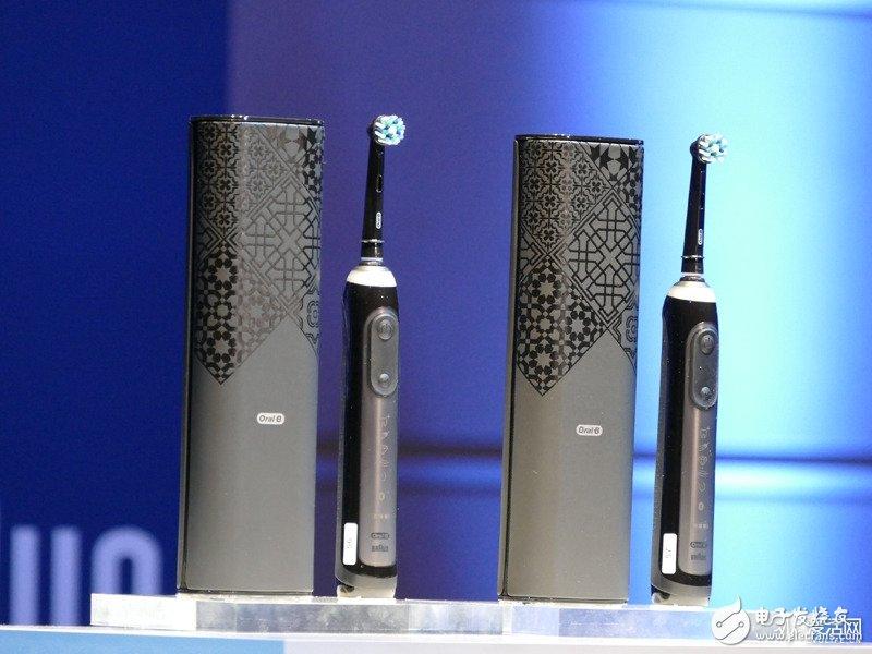 Oral-B推出人工智能牙刷GENIUS X,近日在日本发布上市销售