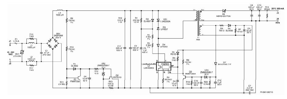 基于LinkSwitch-PH可控硅调光驱动器的高效LED照明设计