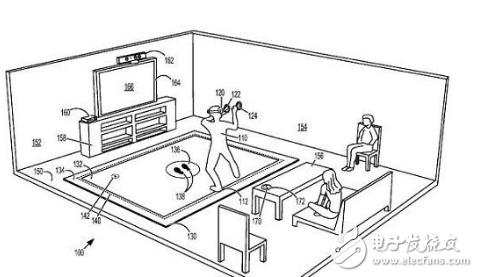微软推出具有触觉反馈和压力传感器的VR用途地板垫