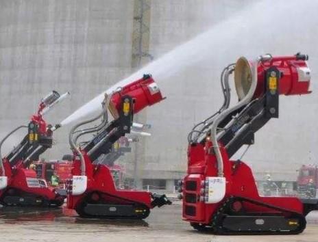 我国消防机器人的研发步伐加快,已经达到世界先进水...