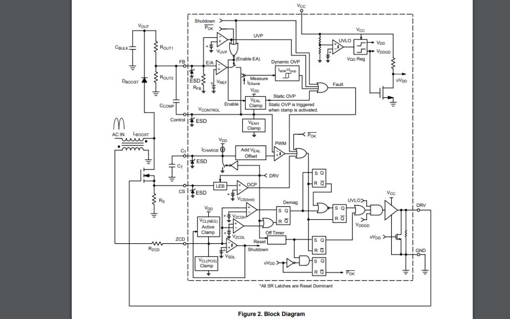 NCP1607有源功率因数控制器的数据手册免费下载
